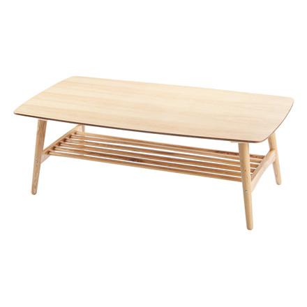 MANHATTAN sofabord egetræ L 130 x B 70 cm