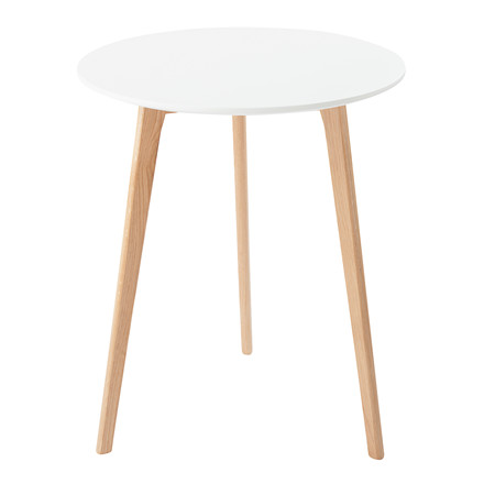 JACKIE cafebord hvid Ø 60 cm
