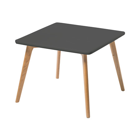 ROBIN sofabord sort B 60 x L 60 cm