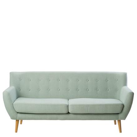 MIAMI 2½ pers. sofa støvet grøn