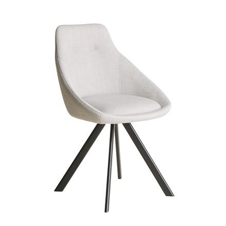 VIGGA spisebordsstol lys grå