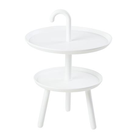 OLIVIA bakkebord hvid
