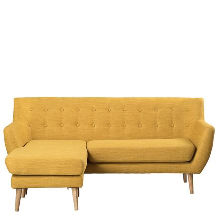 MIAMI chaiselong venstrevendt gul