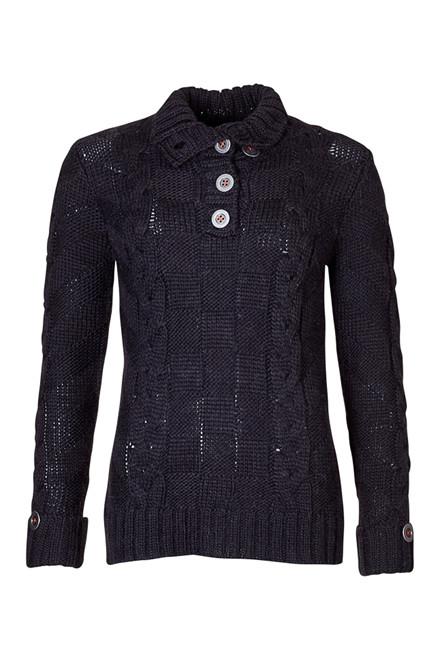 CRÉTON JEANS Rihanna sweater m. knapper