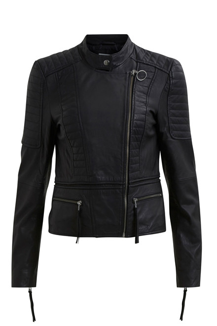 OBJECT Rake leather jacket
