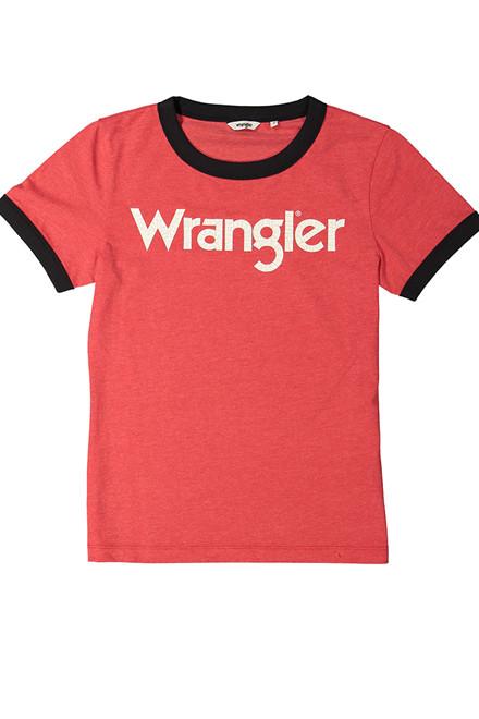 WRANGLER Ringer Formula Red t-shirt