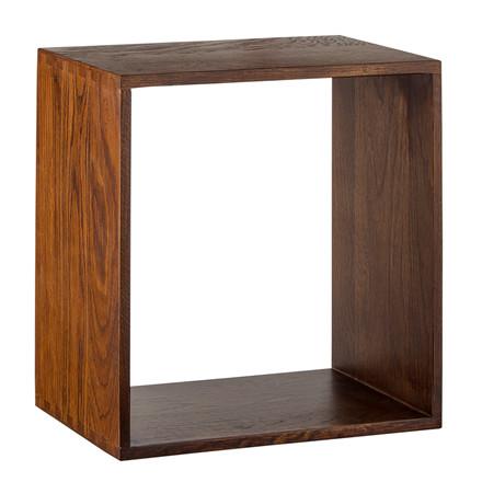 SHAPE IT bogkasse valnød 35 x 35 cm