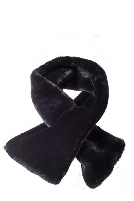 CRÉTON Zumii fake-fur tørklæde