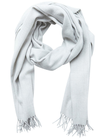 VILA Viamuse scarf light grey