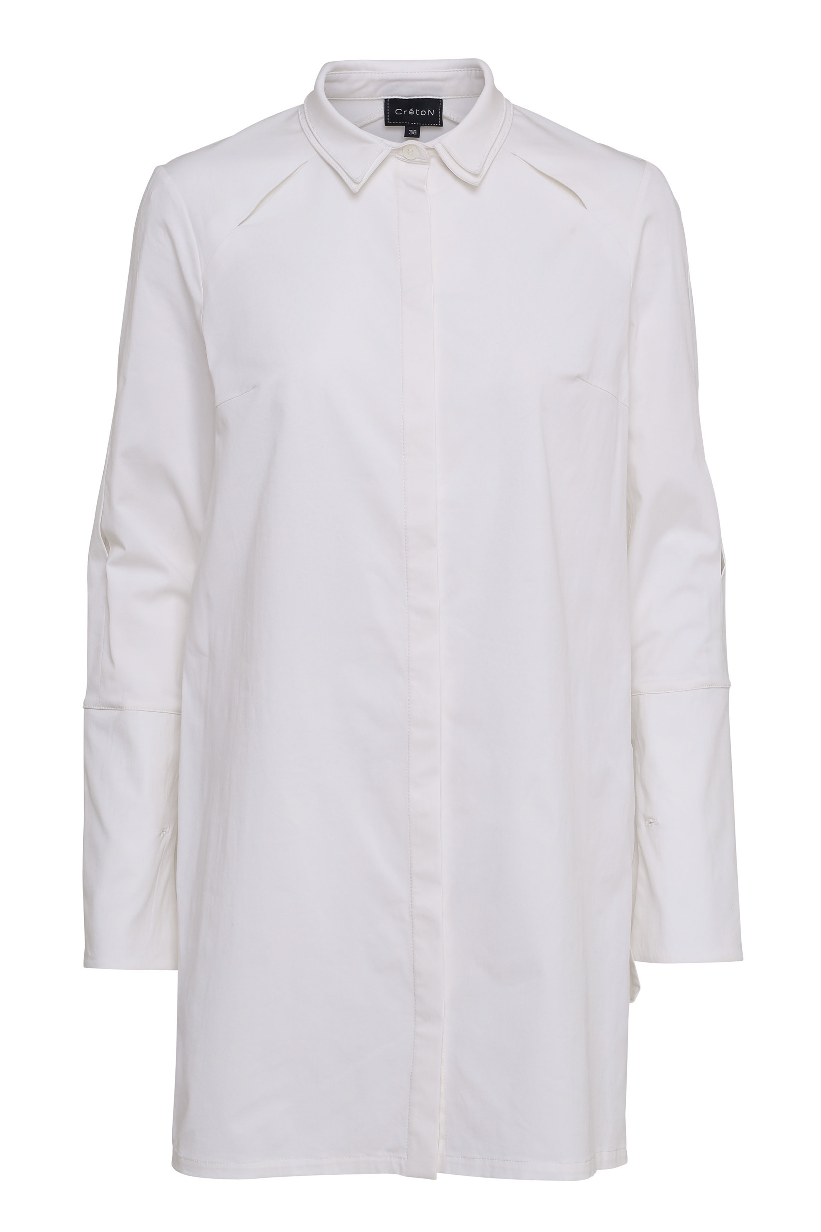 CRÉTON Agnee lang skjorte X01 34
