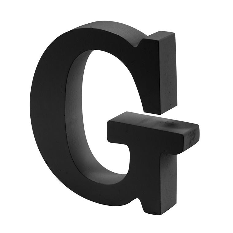 OPENMIND bogstav i træ G