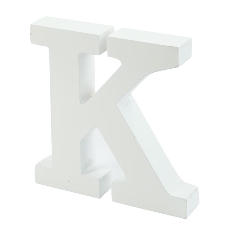OPENMIND bogstav i træ K