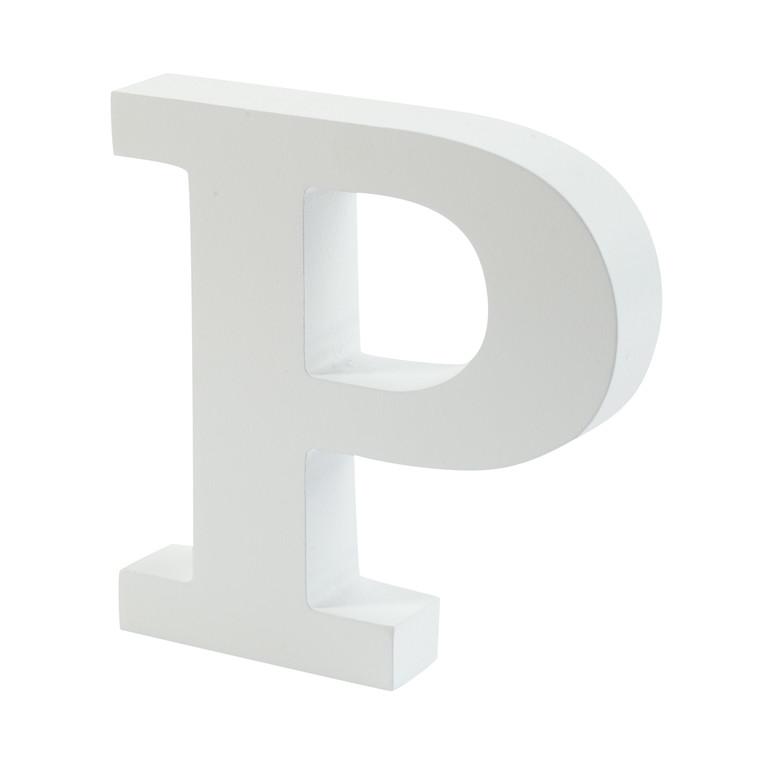 OPENMIND bogstav i træ P