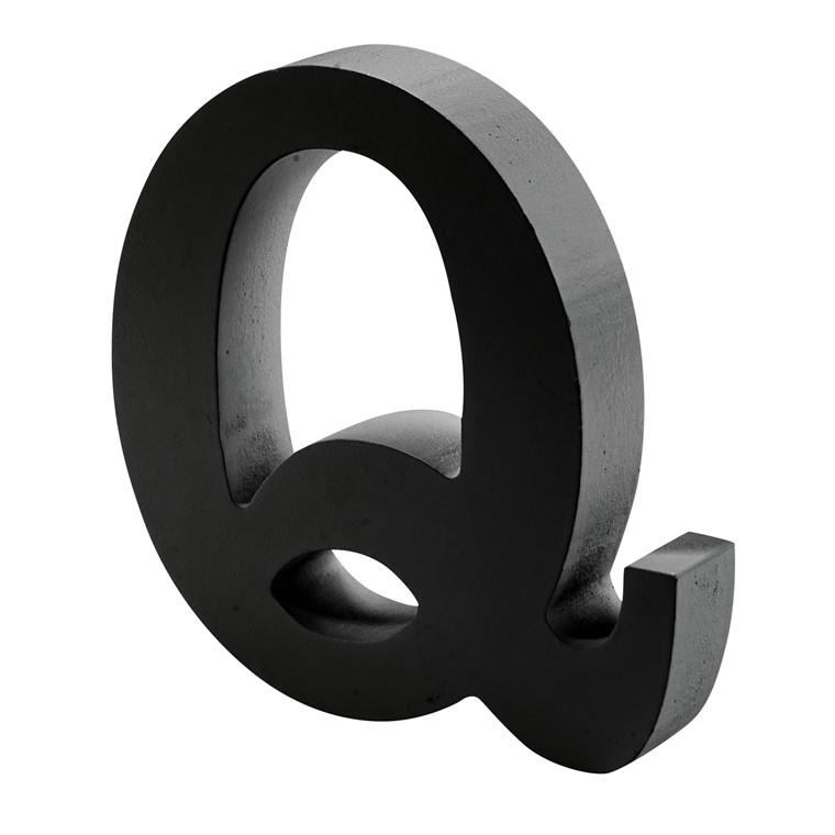 OPENMIND bogstav i træ Q
