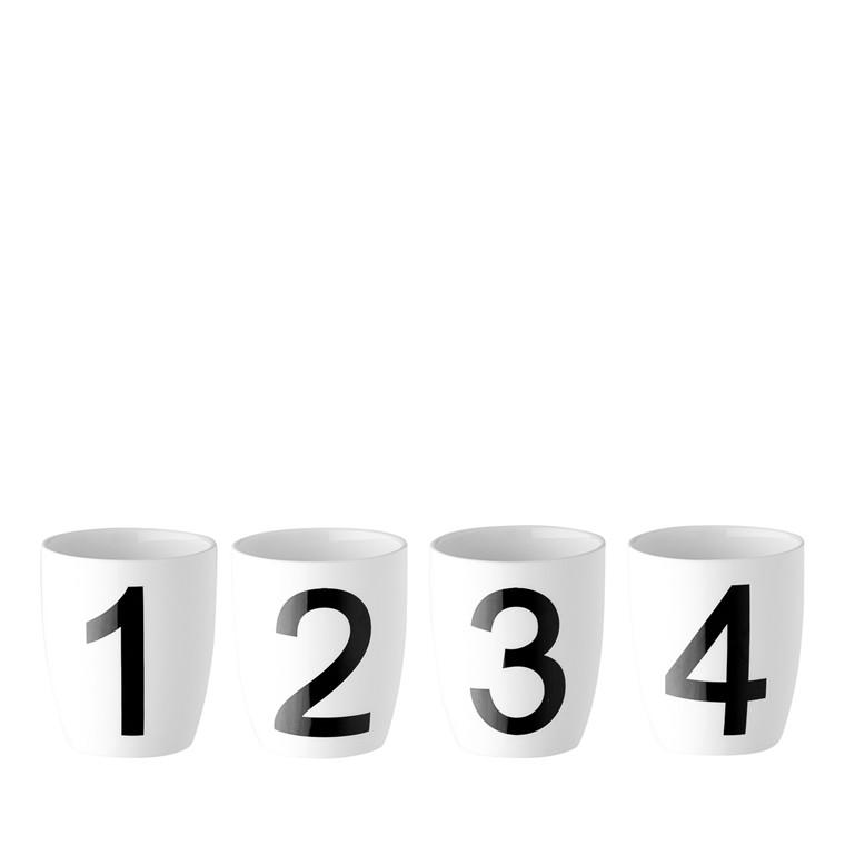 OPENMIND Alphabet tal krus 4 stk.