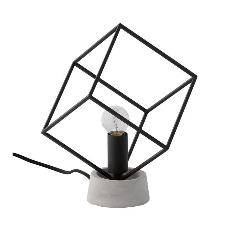 CRÉTON MAISON Cube bordlampe