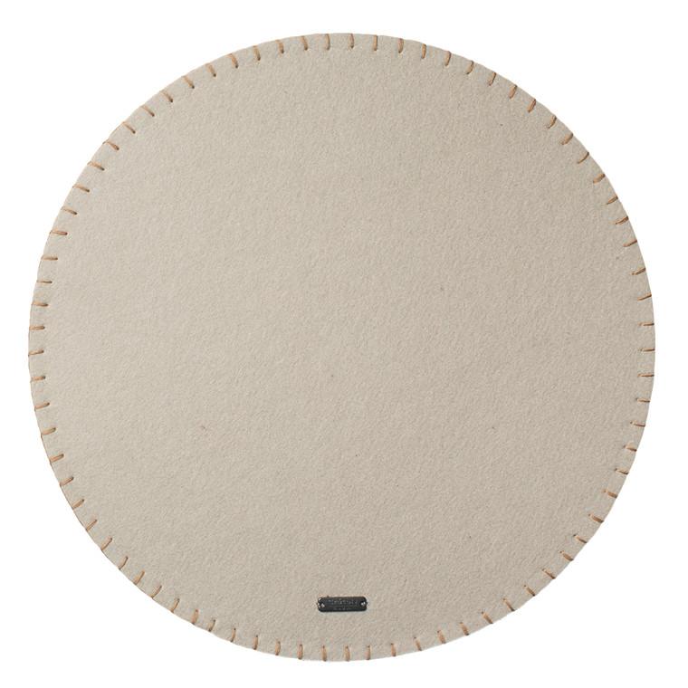 CRÉTON MAISON Dækkeserviet med stikninger Ø 35 cm