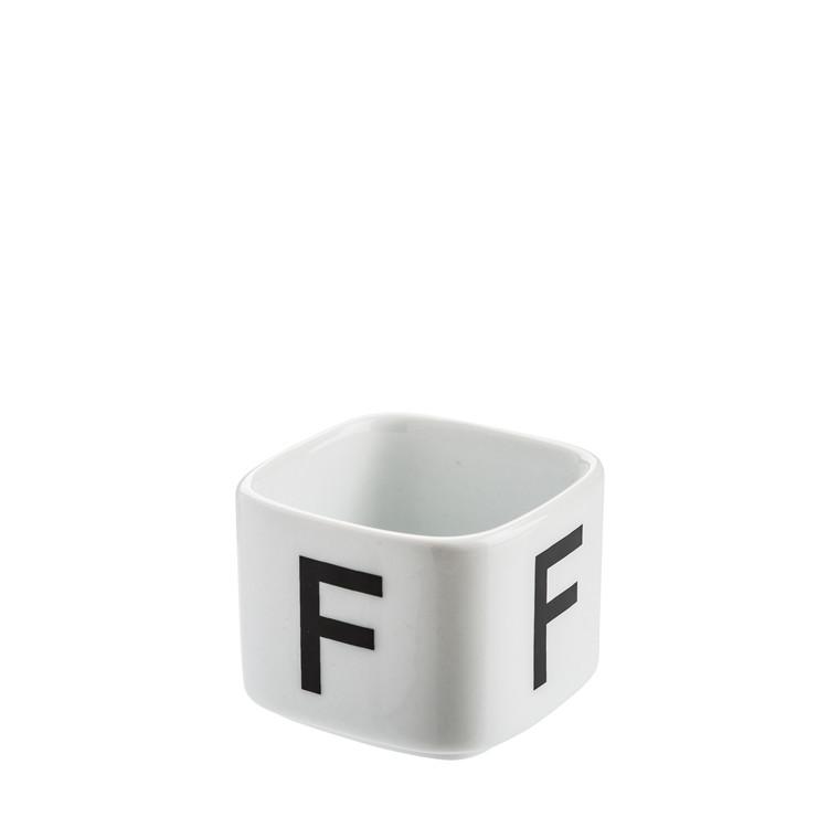 OPENMIND Alphabet F fyrfadsstage