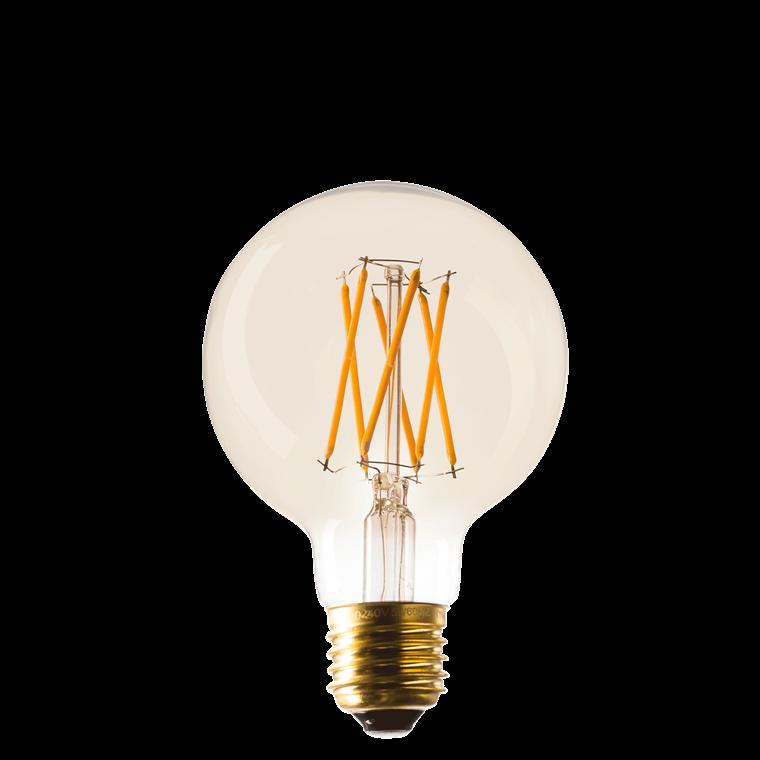 SINNERUP LED pære Ø 8 cm