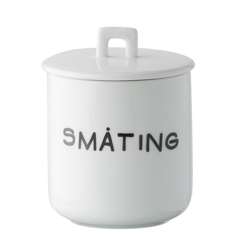 SINNERUP Krus m. porcelænslåg - Småting