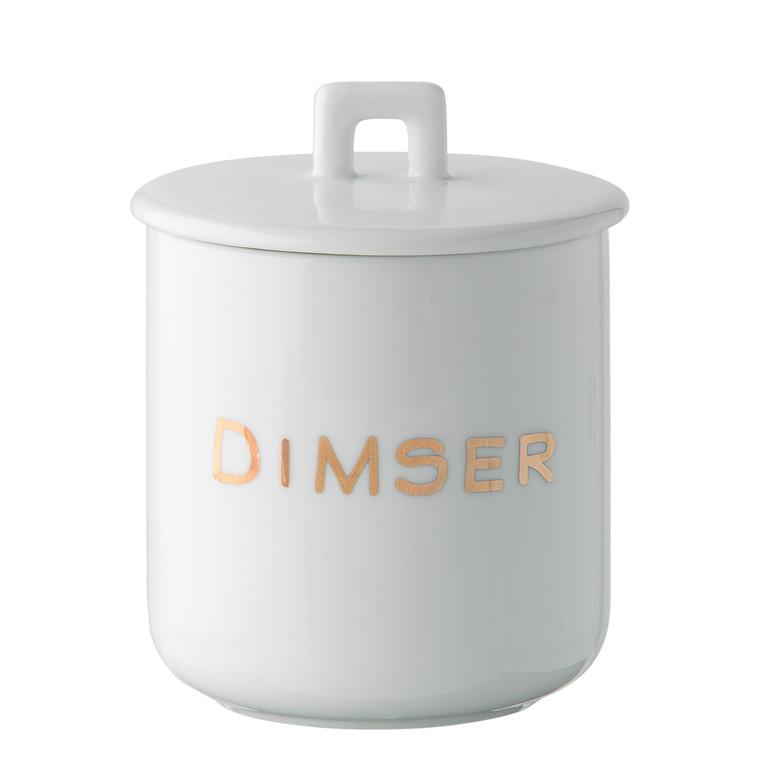 OPENMIND Krus m. porcelænslåg - Dimser