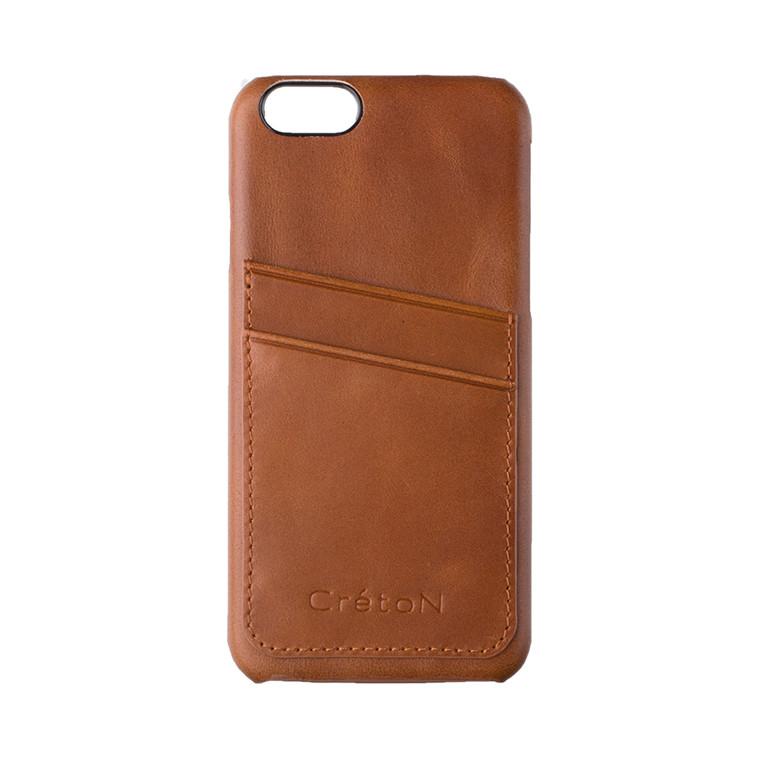 CRÉTON MAISON iPhone 6 lædercover m. kortholder