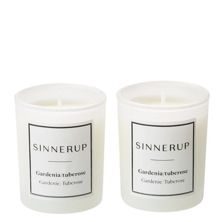 SINNERUP Duftlys gardenia & tuberose 2stk