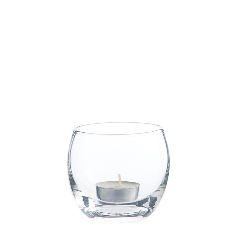 CRÉTON MAISON Glas fyrfadsstage 2 stk