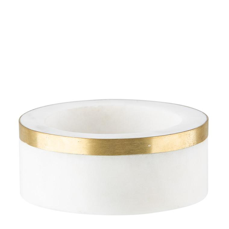 SINNERUP Athene marmor lysestage