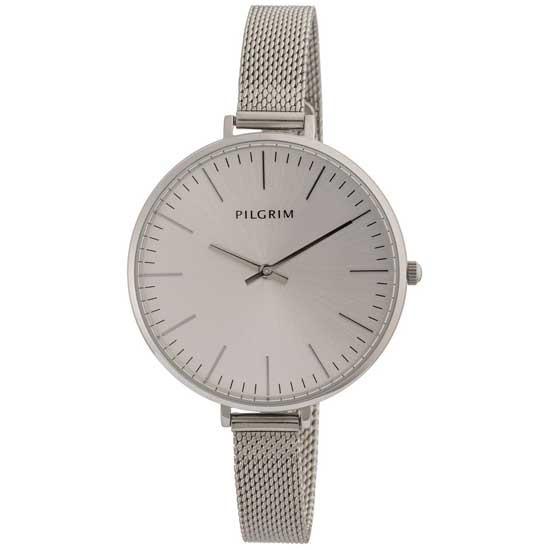 PILGRIM ur, sølv belagt
