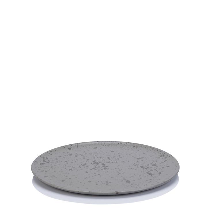 AIDA RAW frokosttallerken grå spotted 23 cm