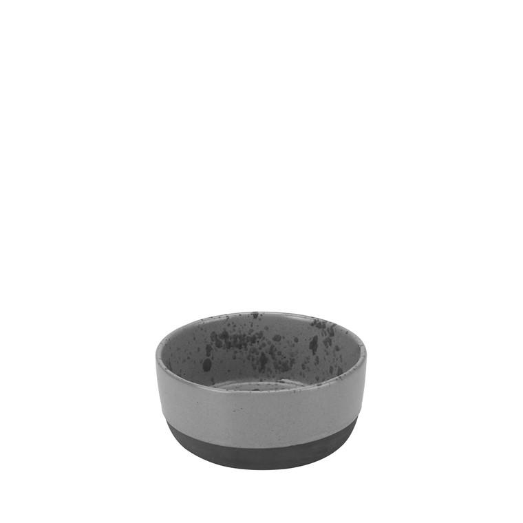 Aida RAW skål grå spotted