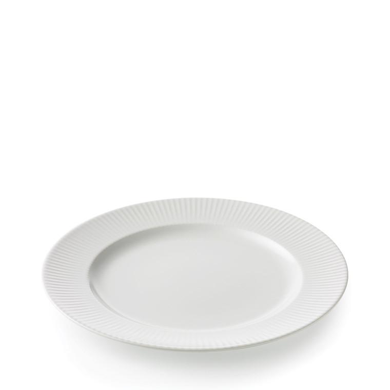 AIDA Groovy middagstallerken hvid