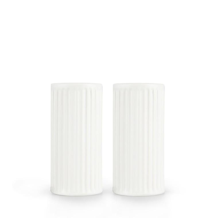 AIDA Groovy salt og peber hvid stentøj