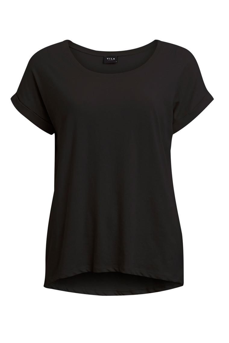 VILA Dreamers t-shirt sort