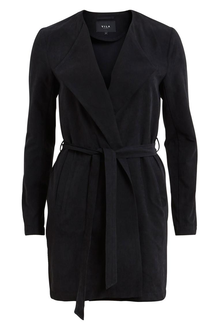 VILA vican coat sort