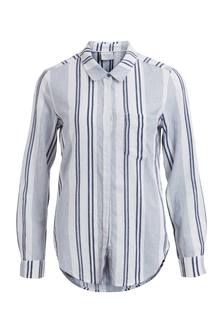 VILA Flida stripe shirt