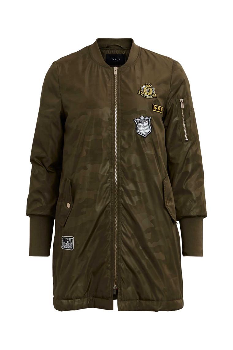 VILA Vimily long army jacket