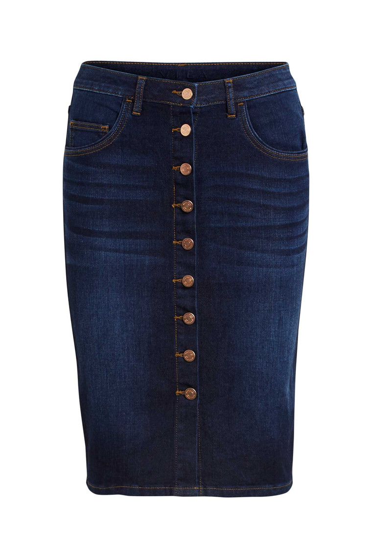 VILA Vicutit denim skirt