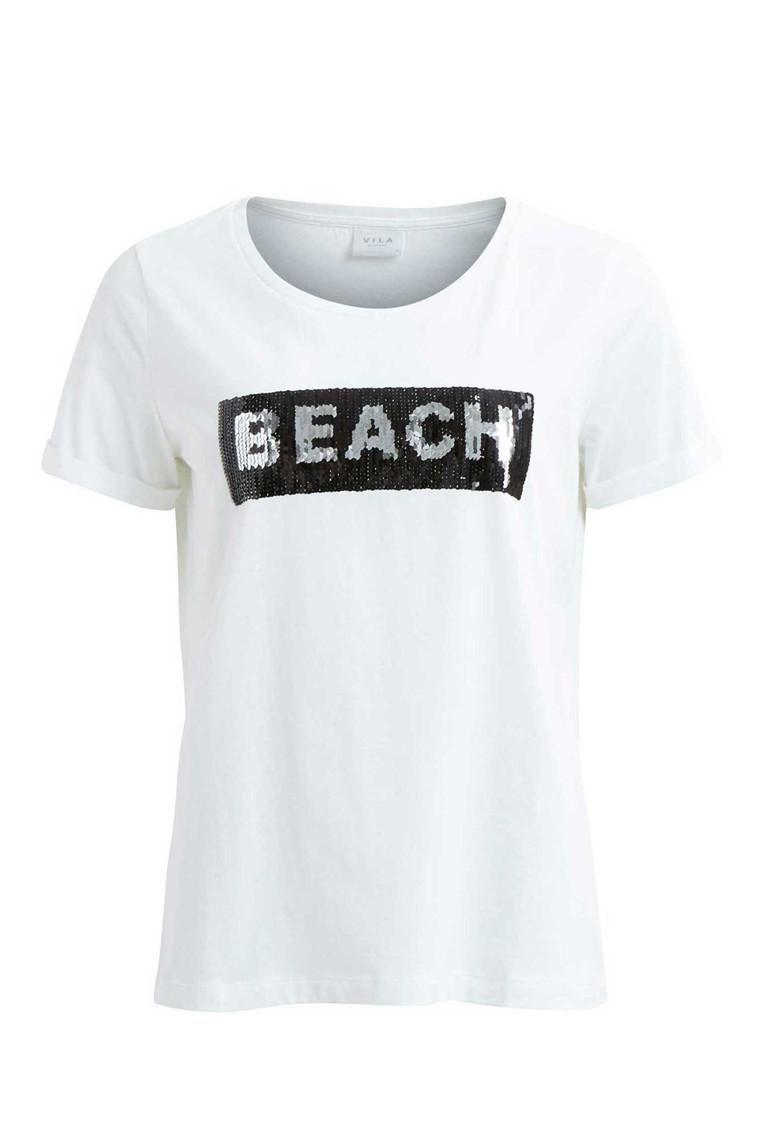 VILA Vimercy Sequins t-shirt