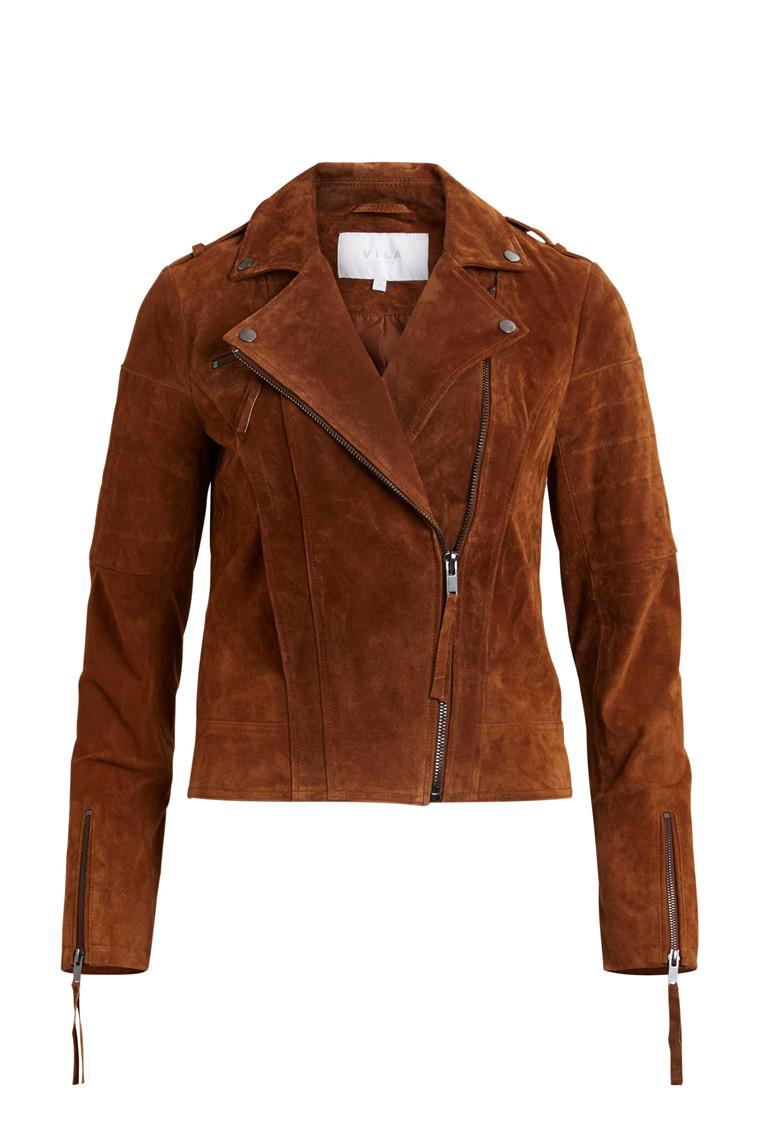 VILA Cris suede jacket