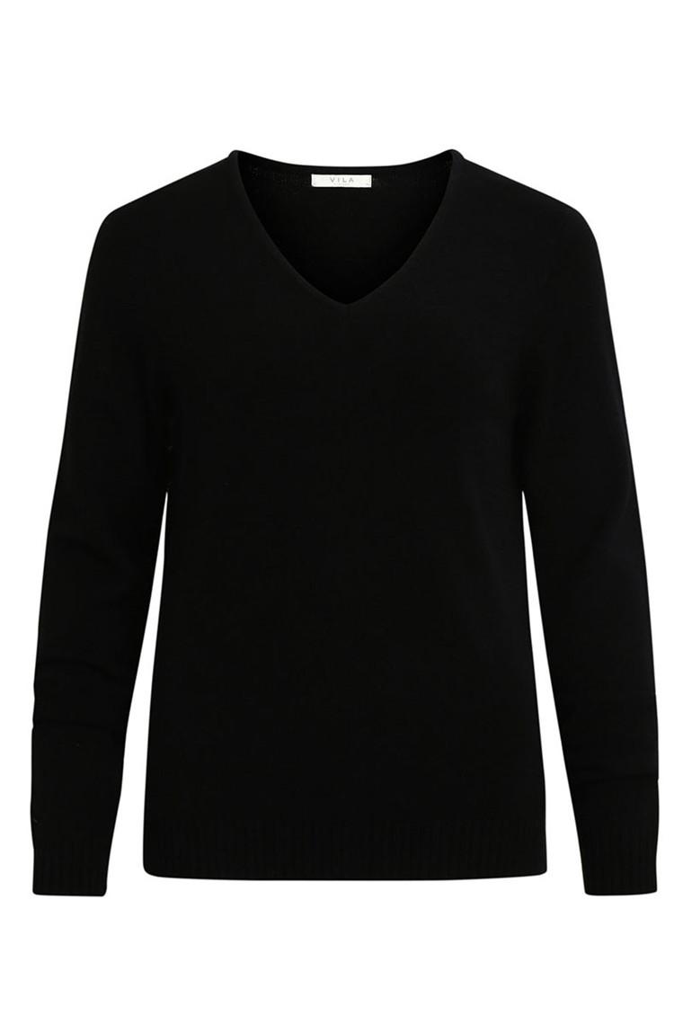 VILA Viril V-neck knit noos