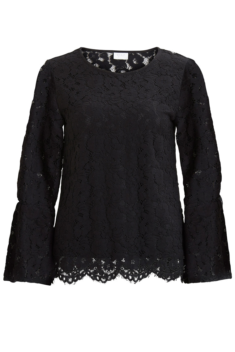 VICARY 3/4 BELL SLEEVE TOP/DC