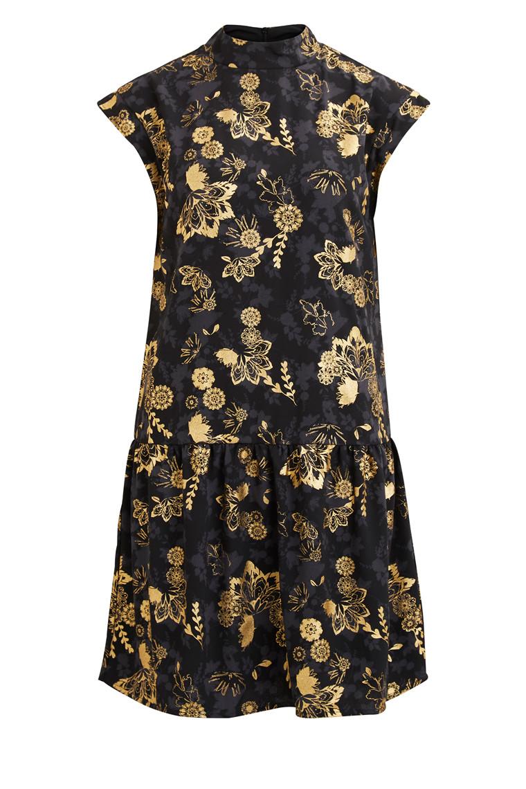 VILA Viestobel high neck dress