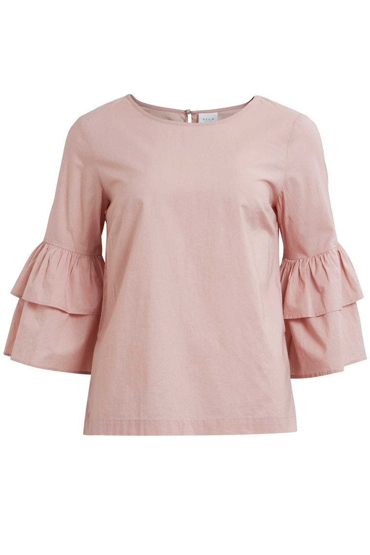 VILA Viloretta 4/4 sleeve top