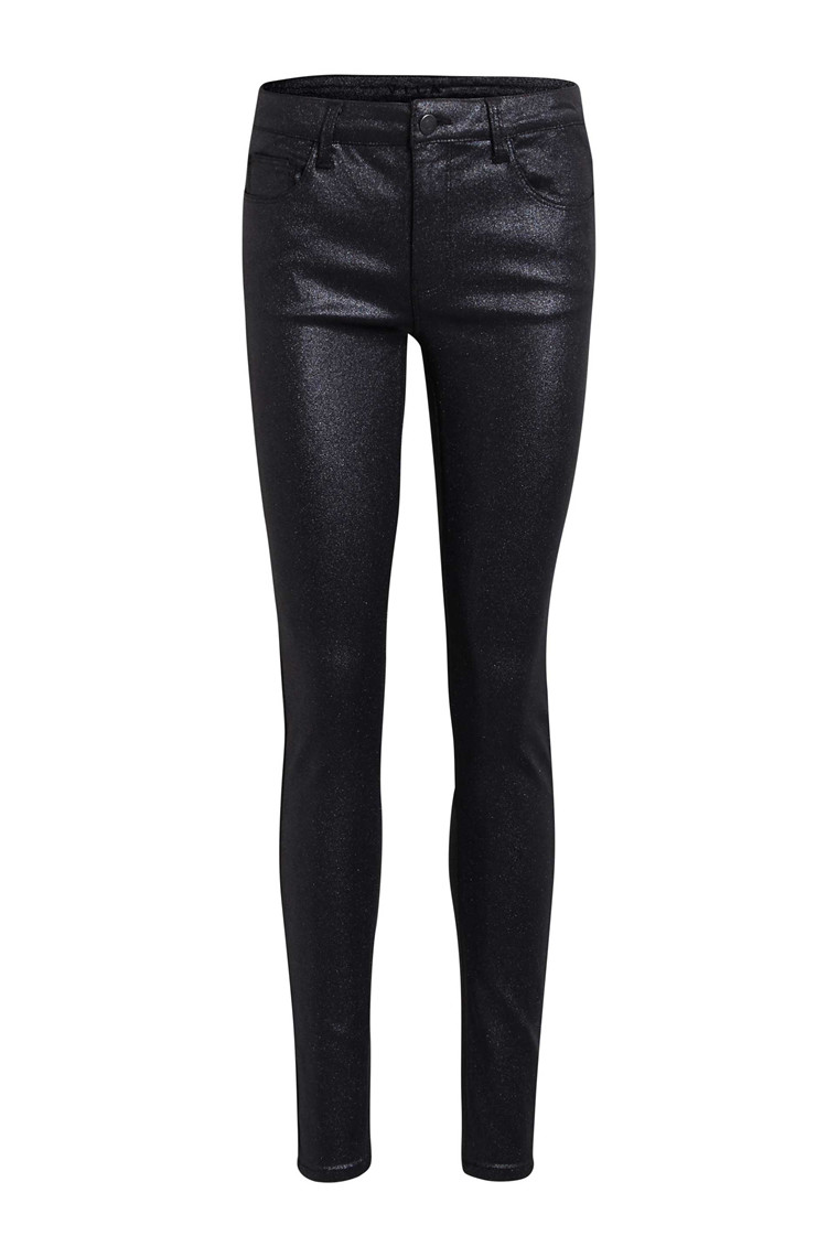 VILA Vicommit glitter coated jeans