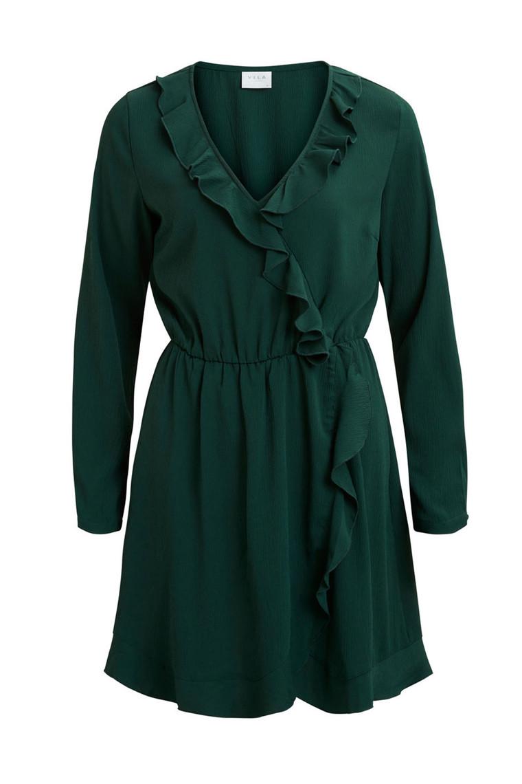 VILA Vitaja wrap dress