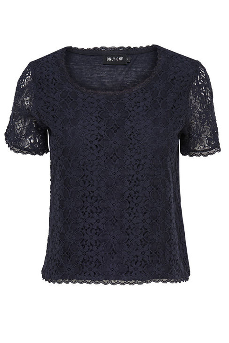 ONLY Calua lace top dark blue