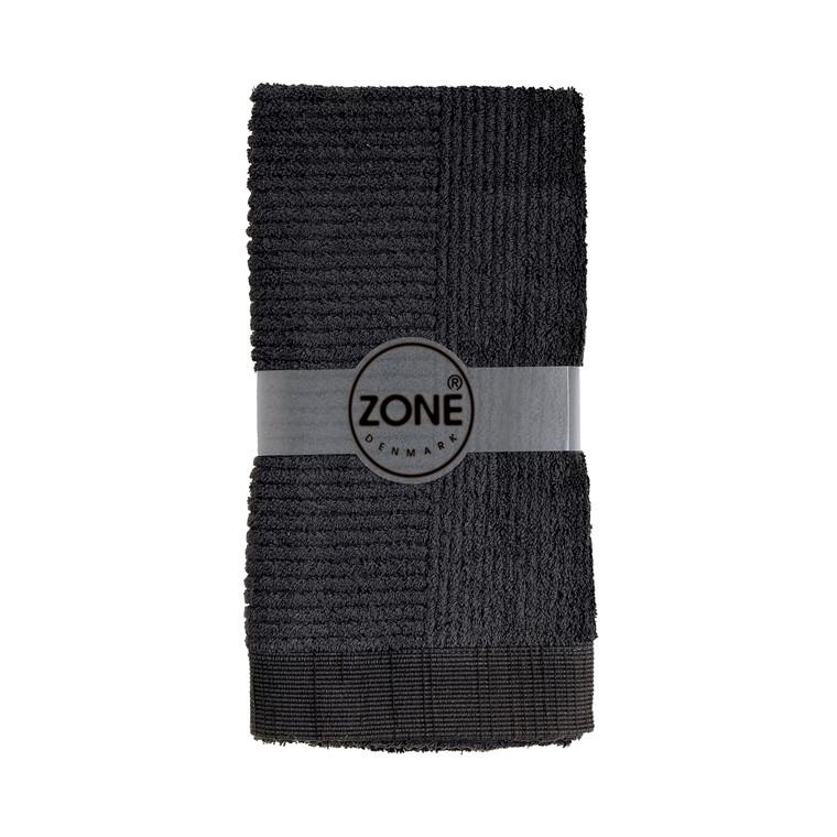 Zone Confetti håndklæde 50 x 100 cm sort