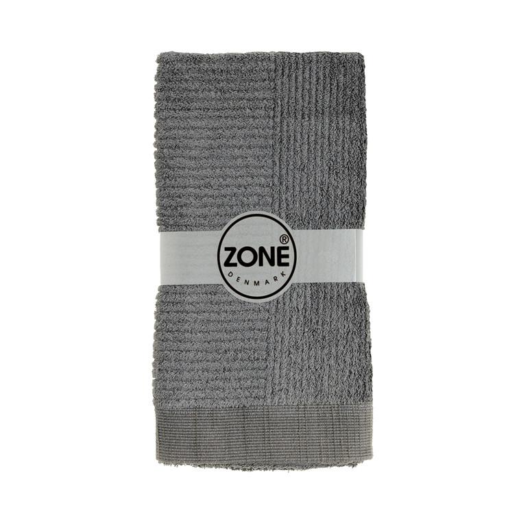 Zone Classic håndklæde 50 x 100 cm grå